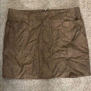 Dresses & Skirts - Gap size 12 mini skirt bronze pockets
